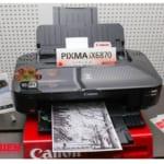 Máy in Canon Pixma IX6870 báo lỗi đèn
